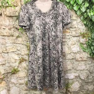 Marvin Richards beautiful animal print dress 14